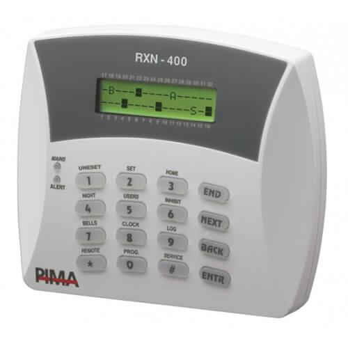 לוח הפעלה RXN-400 למערכות אזעקה תוצרת פימא