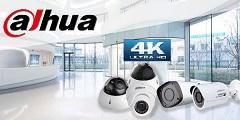 מצלמות אבטחה 4K תוצרת Dahua
